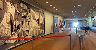 La Nación / Sorpresa en la ONU tras el retiro de tapiz del Guernica por la familia Rockefeller