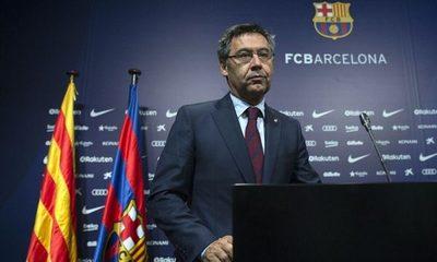 Detuvieron al ex presidente del Barcelona, Josep María Bartomeu por el BarçaGate