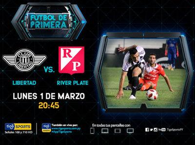 Libertad quiere recuperarse ante un motivado River Plate