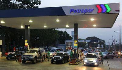 Petropar sube todos sus combustibles, menos el gasoil común