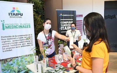ITAIPU distribuyó plantas medicinales en conmemoración del Día Nacional del Tereré