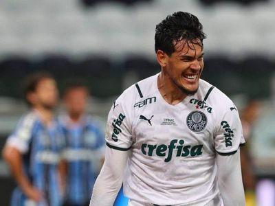 Gustavo Gómez da triunfo al Palmeiras con un golazo