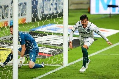 Golazo de Gustavo Gómez da victoria al Palmeiras en la Copa do Brasil