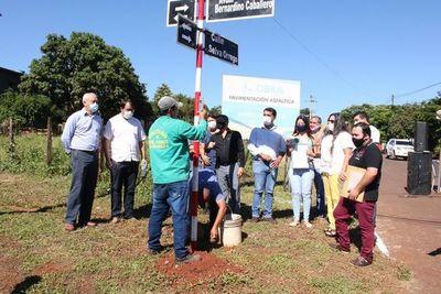 Nombran calle en honor a recordada franqueña fallecida por COVID