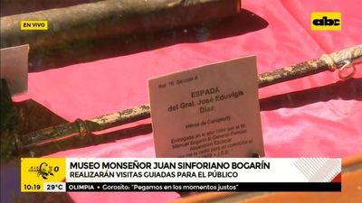 Invitan a visitar el museo Monseñor Juan Sinforiano Bogarín