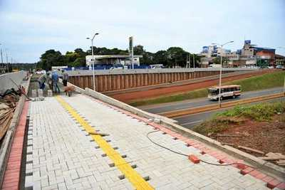 Obras del Multiviaducto de Ciudad del Este superan el 93% de avance