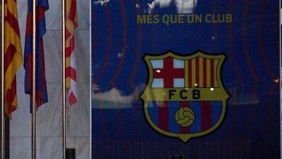 Allanan ofician de Barcelona y detienen a su expresidente