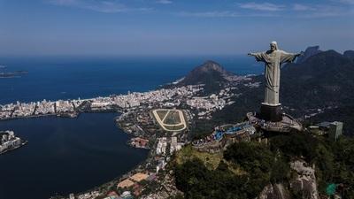 El Cristo de Río celebra sus 90 años inspirado en el desarrollo sostenible