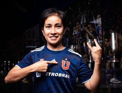 La 'U' de Chile y su refuerzo estrella para la Copa: una goleadora paraguaya