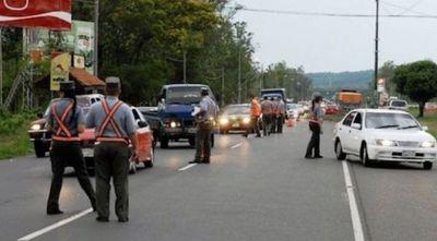 Operativo retorno: Caminera registra gran afluencia de vehículos que regresa del interior