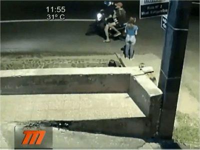 Capturan a Lágrima, presunto motochorro que atacó con un machetillo a joven