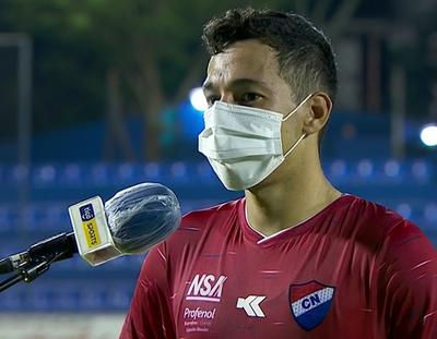 Carlos Arrúa lamenta la desatención en el gol de Guaireña
