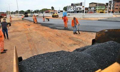 Obras del Multiviaducto de Ciudad del Este que financia ITAIPU superan el 93% de avance