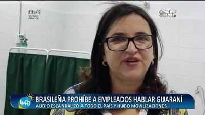 Habló con la prensa la brasileña que no permite comunicarse en Guaraní