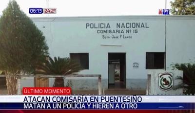 Ataque a comisaría deja un policía muerto y otro herido