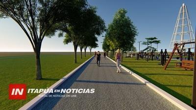 PROYECTAN CONSTRUCCIÓN DEL «PARQUE DE LA SALUD» EN CNEL. BOGADO