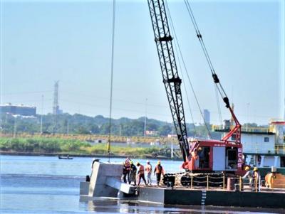 Puente Héroes del Chaco: marchan preparativos para iniciar trabajos en el río Paraguay