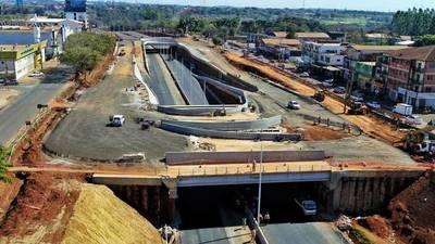 Multiviaducto de Ciudad del Este se inaugurará entre mayo y junio