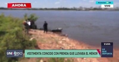 La Nación / Niño desaparecido en Limpio fue hallado flotando sin vida en el río Paraguay
