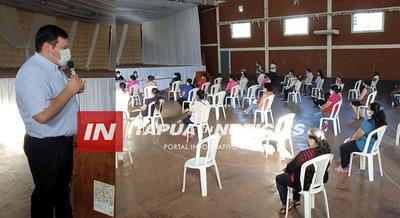 INCORPORAN A 68 NUEVAS FAMILIAS AL PROGRAMA TEKOPORA EN FRAM