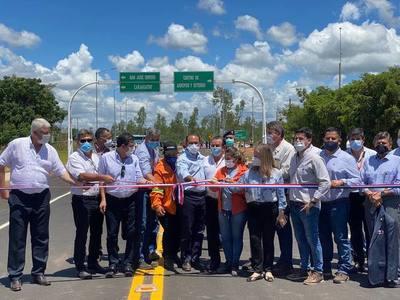 Nueva ruta de 30 km se traducirá en beneficios para más de 30.000 cordilleranos