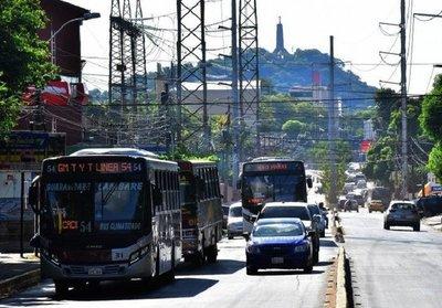 Cetrapam anuncia paro total de buses