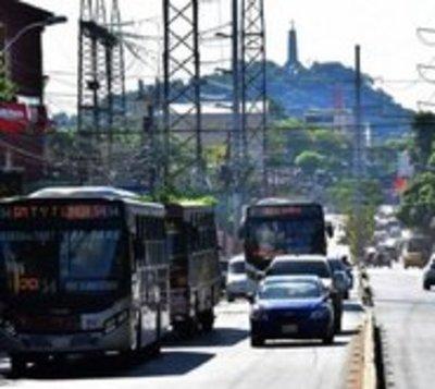 Anuncian paro total de buses