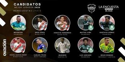 Cinco paraguayos compiten para estar en el equipo ideal de América