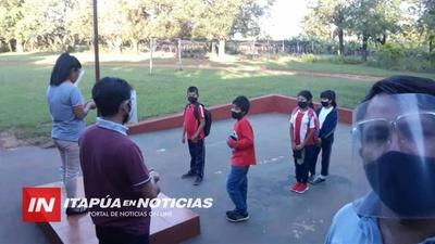 INICIO DE CLASES EN 21 ESCUELAS DE COMUNIDADES INDÍGENAS DE ITAPÚA.