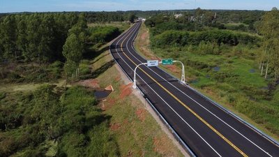 Inauguran 30,28 km de nuevos asfaltados construidos por MOPC en Cordillera
