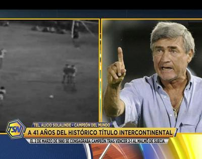 Alicio Solalinde relata la noche gloriosa de hace 41 años