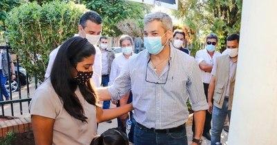 """La Nación / Abdo: """"Si soy contagiado del COVID, me voy a ir al Ineram porque están los mejores"""""""