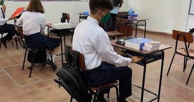 La Nación / Arambé inició clases para el nivel medio en la modalidad híbrida