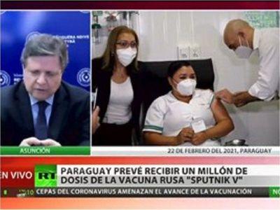 Paraguay apura vacuna rusa y asegura que es opción preferencial