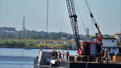 Inician los primeros trabajos sobre el río Paraguay para el puente que unirá a Asunción con Chaco'i