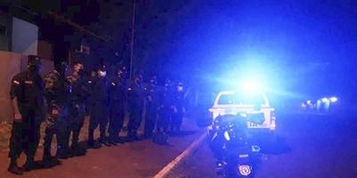 POLICÍA REALIZA IMPORTANTE OPERATIVO EN COMBATE DE LA INSEGURIDAD EN ITÁ PASO