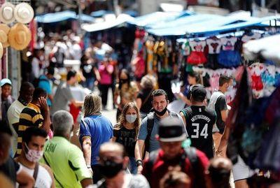 Brasil se contrajo menos que las otras mayores economías