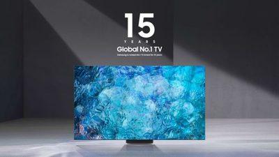 Samsung es nombrada fabricante mundial N° 1 de televisores durante 15 años consecutivos