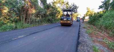 Avanza la ruta que conectará a cañicultores en Cordillera