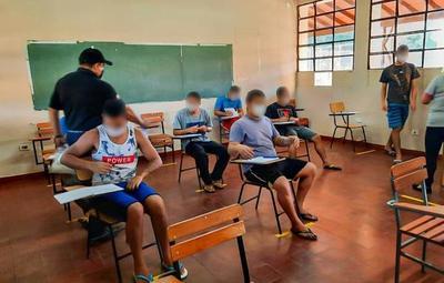 83 adolescentes del Centro Educativo de Itauguá iniciaron las clases