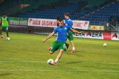 ¡Al ángulo! El golazo de Braian Samudio en la Superliga de Turquía