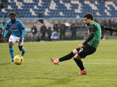 El Sassuolo frustra al Napoli en el último suspiro