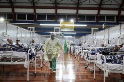 Brasil, al límite: empieza a colapsar la terapia intensiva de San Pablo, que vuelve a fase roja