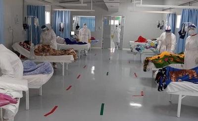 Covid deja 21 finados, 1.341 contagiados y 1.103 hospitalizados