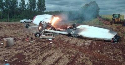 La Nación / Dos jóvenes fallecieron en un accidente aéreo en la zona del distrito de Naranjal