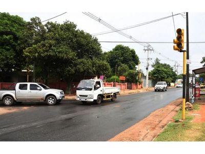 Pobladores exigen nuevos semáforos en San Lorenzo