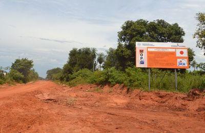 Otra burla del MOPC en Paraguarí