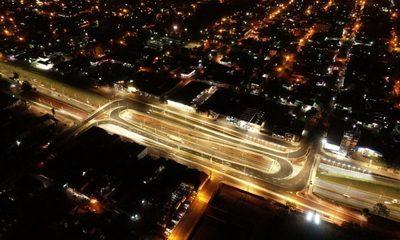 Realizan prueba de luces en puentes y colectoras del Multiviaducto de CDE – Diario TNPRESS