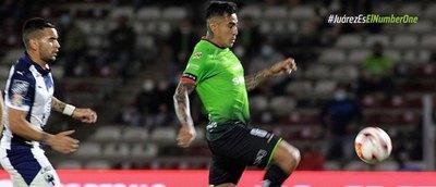 Lezcano anota, pero Juárez es humillado por el Monterrey de Ortiz