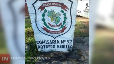 HURTARON MATERIALES DE CONSTRUCCIÓN EN UNA OBRA EN POTRERO BENITEZ